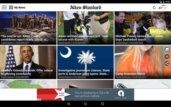 Aiken Standard News apk screenshot