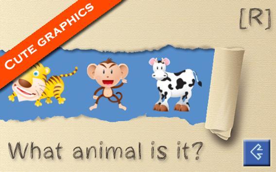 Animal Sounds for Kids screenshot 1