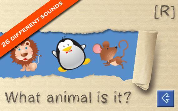 Animal Sounds for Kids screenshot 4
