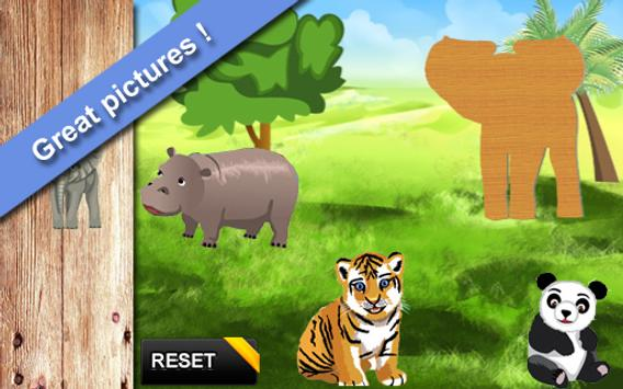 Animals Puzzles for Toddlers apk screenshot