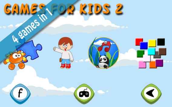 Games for kids 2 poster