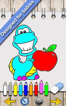 Dinosaurs Coloring Book Apk Screenshot