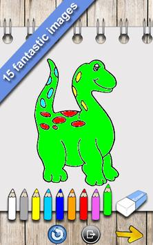 Dinosaurs Coloring Book Poster Apk