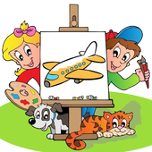 Kids Coloring Book for kids icon