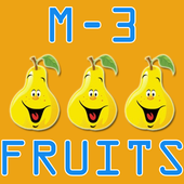 Match 3 Fruits Puzzle Game icon