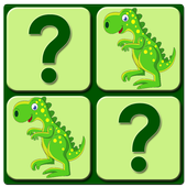 Game of memory for kids icon