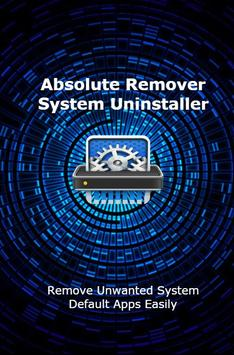 Absolute Remover - System Uninstaller poster