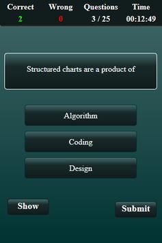 System Analysis and Design Quiz screenshot 4