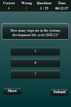 System Analysis and Design Quiz screenshot 9