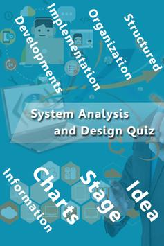 System Analysis and Design Quiz poster