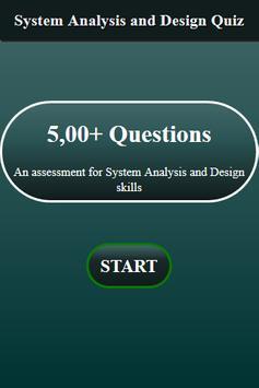 System Analysis and Design Quiz screenshot 1