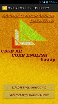 CBSE XII CORE ENGLISH BUDDY screenshot 4