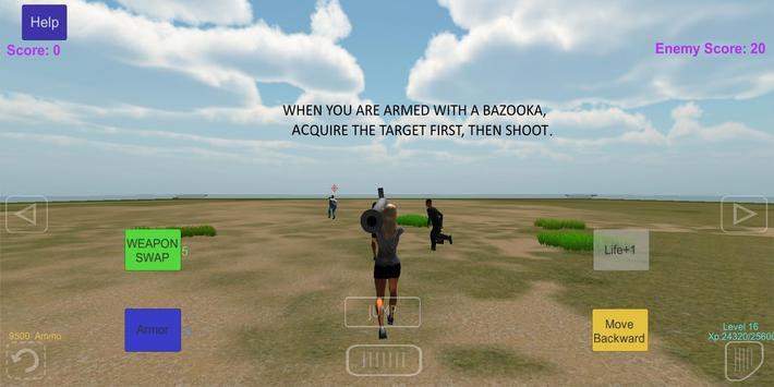Psycho Bazooka Huntress apk screenshot