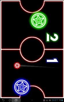 Glow Hockey screenshot 4