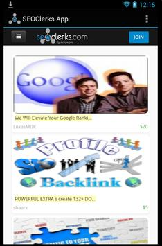 SEO Services by SEOClerks poster