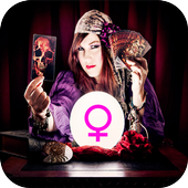 Women Cristal Ball Fortune Teller – Clairvoyant icon