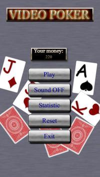 Free Video Poker apk screenshot
