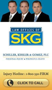 SKG Law Accident App poster
