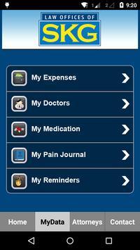 SKG Law Accident App apk screenshot