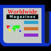 Worldwide Magazines Online icon