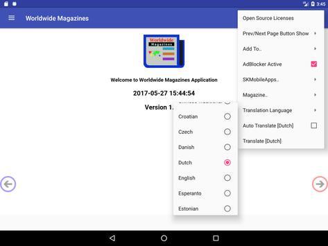 Worldwide Magazines apk screenshot