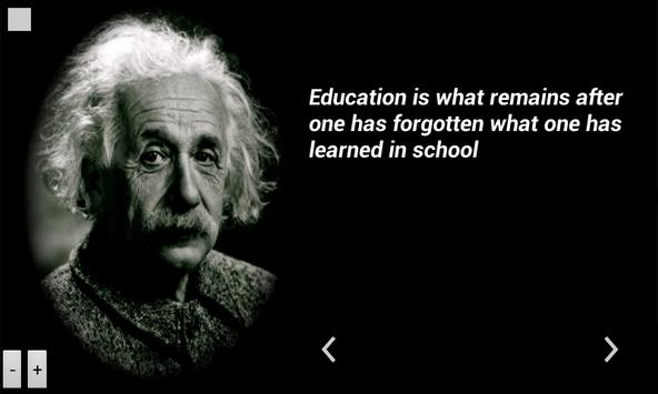 Einstein Quotes poster