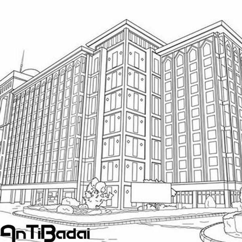 Sketsa Gedung Pencakar Langit For Android Apk Download