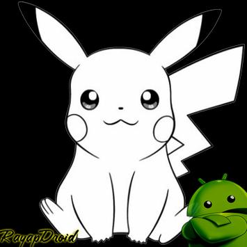Sketch Learning Pokemon Drawing apk screenshot