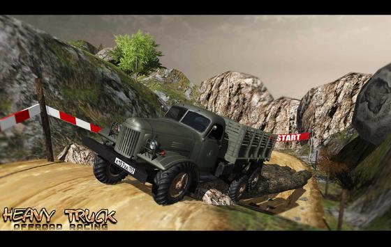 Heavy Truck Offroad Racing poster