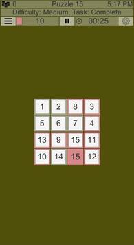 Puzzle 15 screenshot 1