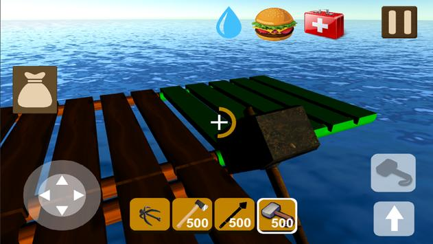 Raft Survival Craft.io apk screenshot