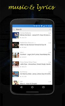 Kaur B sunakhi lyrics screenshot 2