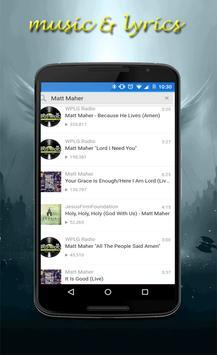 Matt Maher new lyrics screenshot 3