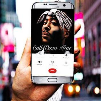 Call From tupac (2pac) apk screenshot