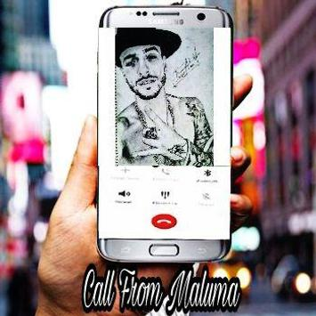 Call From Maluma apk screenshot