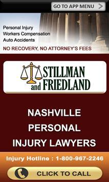 Stillman & Friedland App poster