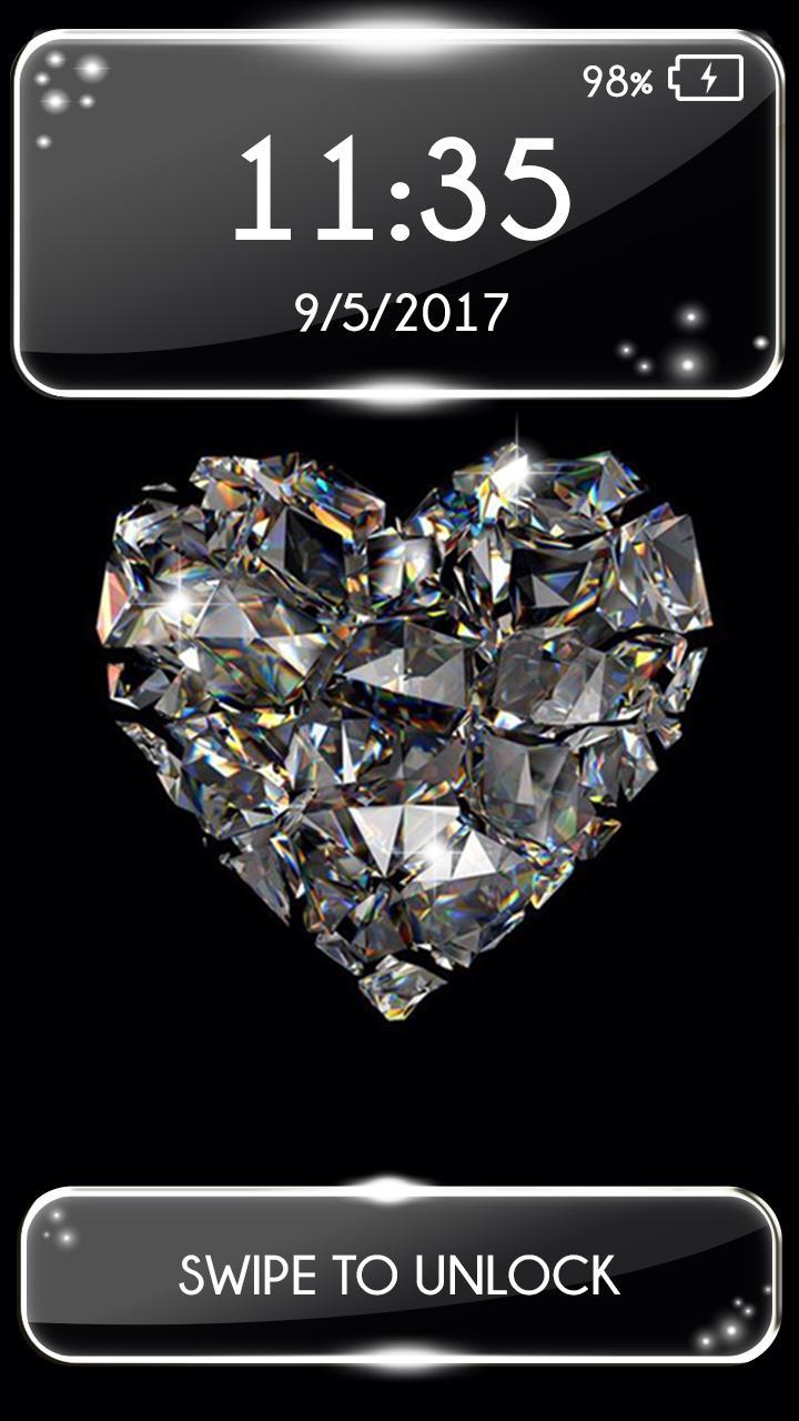 Android 用の ロック画面 壁紙 ダイヤモンド Apk をダウンロード