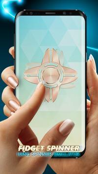 Fidget Spinner : Hand Spinner Simulator App poster