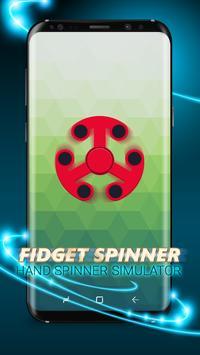 Fidget Spinner : Hand Spinner Simulator App apk screenshot
