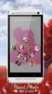 Heart Lock Screen screenshot 16