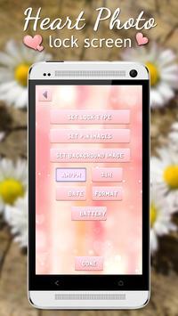 Heart Lock Screen screenshot 8