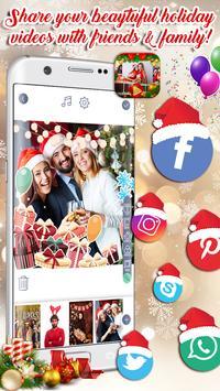Photo Slideshow - New Year & Christmas Music Cards screenshot 5