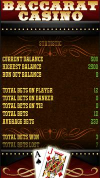 Vegas Baccarat Casino Game screenshot 9