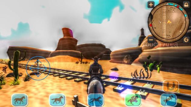 Cowboy Horse Riding Revolver screenshot 3