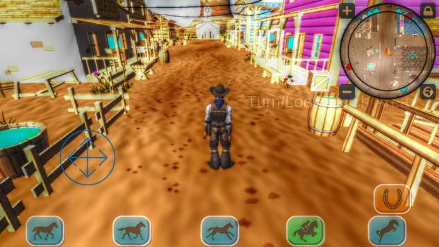Cowboy Horse Riding Revolver poster