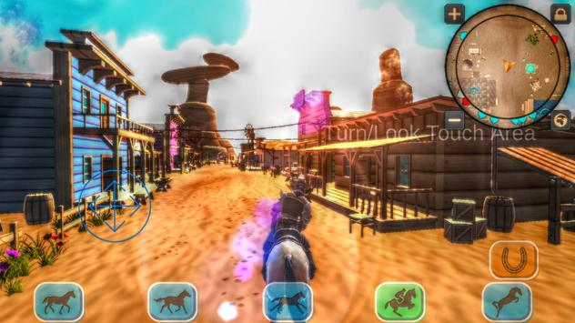 Cowboy Horse Riding Revolver screenshot 1