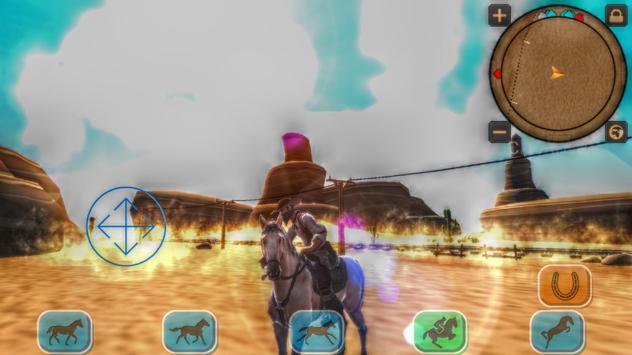 Cowboy Horse Riding Revolver screenshot 2