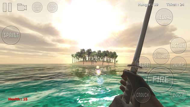 Island Survival Savage poster