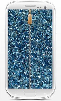 Zip Glitter lock screen screenshot 9