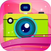 Selfie Pink Moon Camera icon